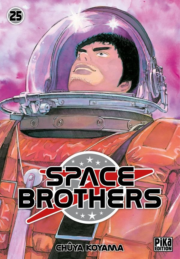 Space brothers T25, manga chez Pika de Koyama