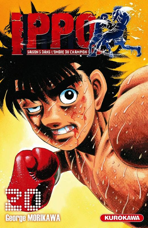 Ippo – Saison 5 - Dans l'ombre du champion, T20, manga chez Kurokawa de Morikawa