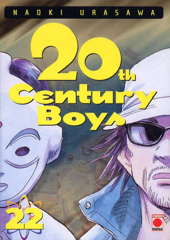 20th Century Boys – Première édition, T22, manga chez Panini Comics de Nagasaki, Urasawa