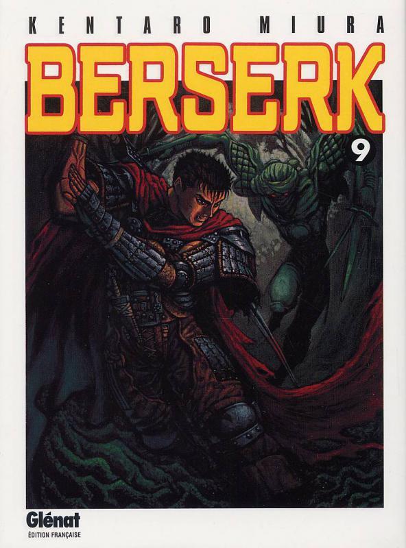 Berserk T9, manga chez Glénat de Miura