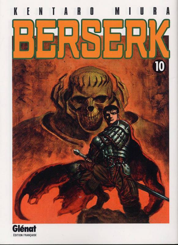 Berserk T10, manga chez Glénat de Miura