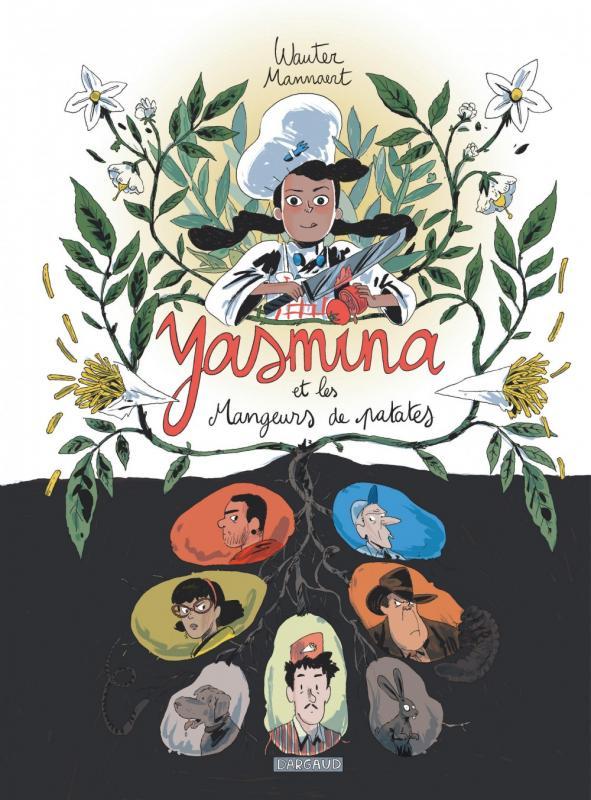 Yasmina et les mangeurs de patates, bd chez Dargaud de