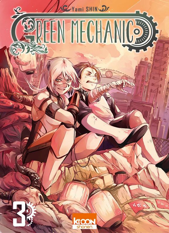Green mechanic T3, manga chez Ki-oon de Shin