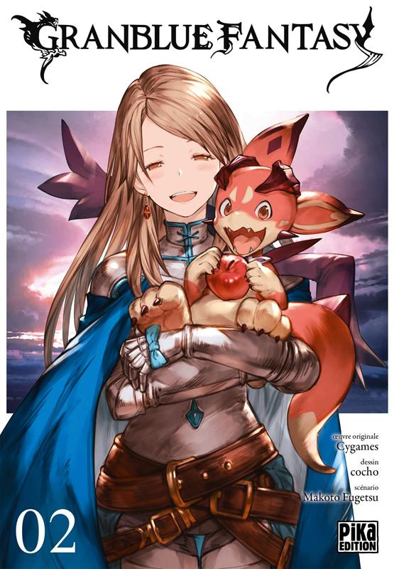 Granblue fantasy T2, manga chez Pika de Fugetsu, Cocho