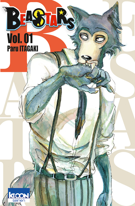 Beastars T1, manga chez Ki-oon de Itagaki