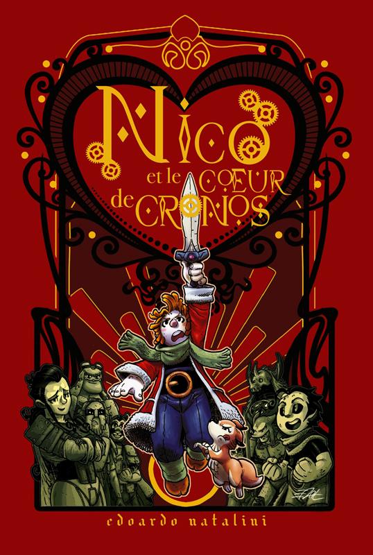 Nico et le coeur de cronos, bd chez Akileos de Natalini