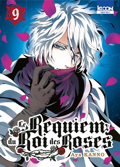 Le Requiem du roi des roses  T9, manga chez Ki-oon de Kanno