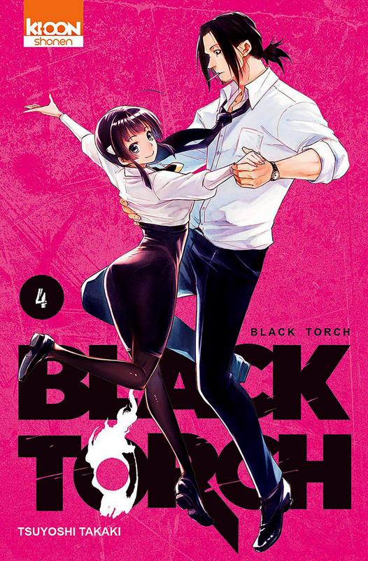 Black torch T4, manga chez Ki-oon de Takaki