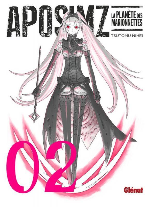 Aposimz T2, manga chez Glénat de Nihei