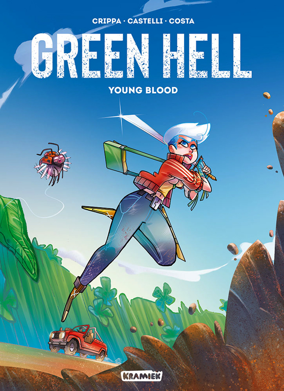Green hell, bd chez Kramiek de Castelli