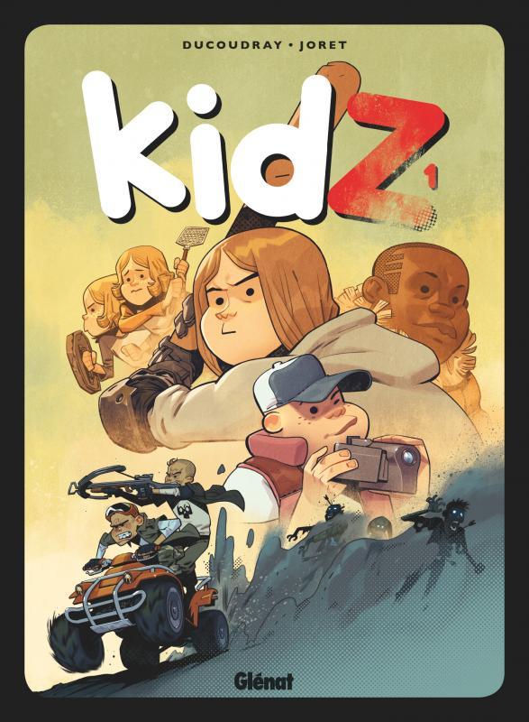KidZ T1, bd chez Glénat de Ducoudray, Joret