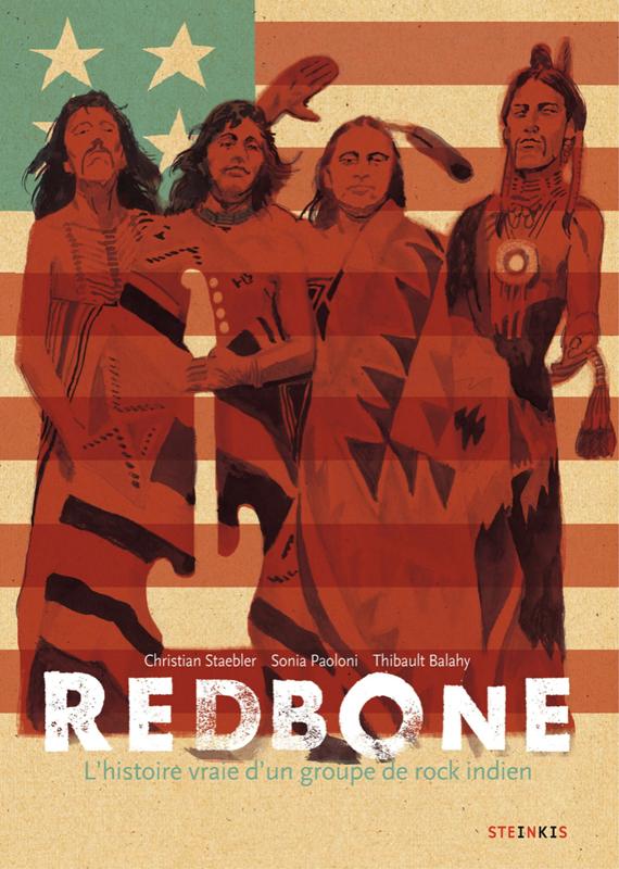 Redbone, bd chez Steinkis de Staebler, Paoloni, Balahy