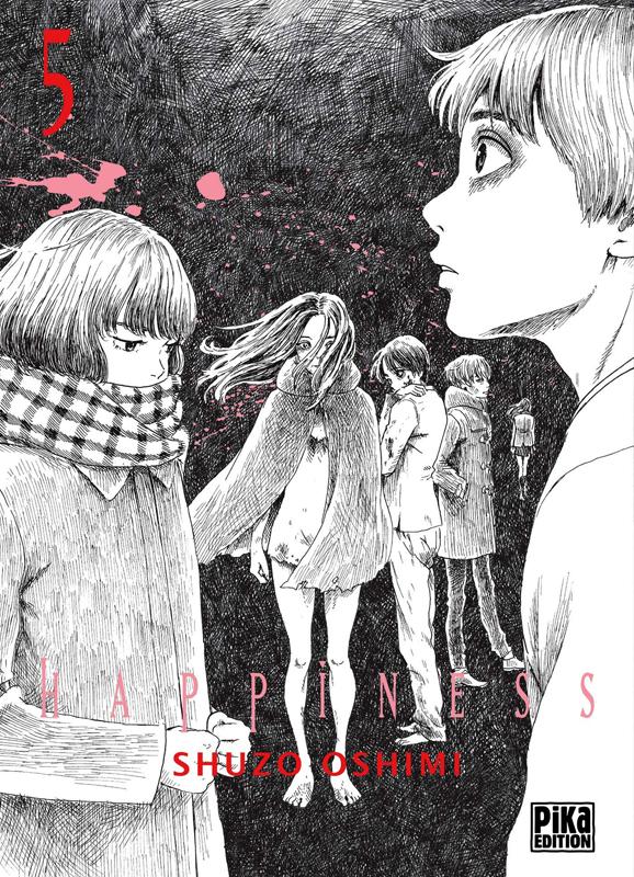 Happiness T5, manga chez Pika de Oshimi
