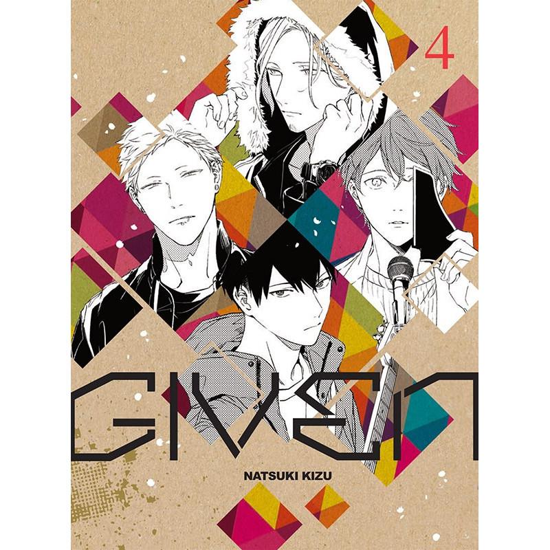 Given T4, manga chez Taïfu comics de Kizu