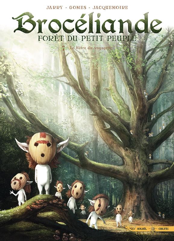 Brocéliande T7 : Le Hêtre du voyageur (0), bd chez Soleil de Jarry, Gomes, Jacquemoire