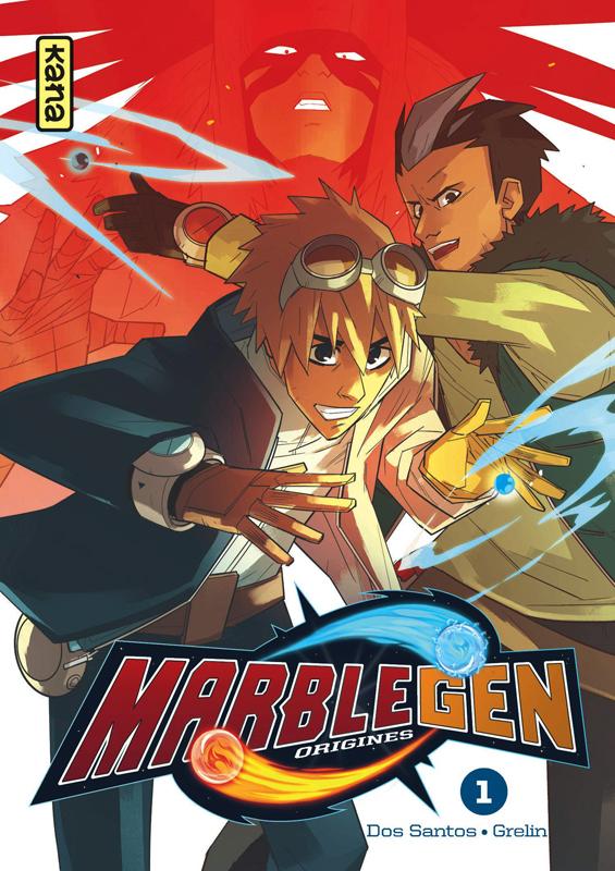 Marblegen Origines T1, manga chez Kana de Dos Santos, Grelin