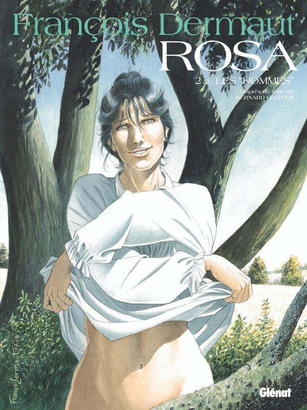 Rosa T2 : Les hommes (0), bd chez Glénat de Dermaut