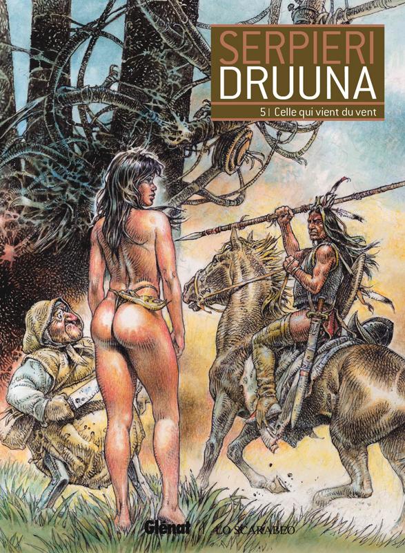 Druuna T5 : Celle qui vient du vent (0), bd chez Glénat de Serpieri