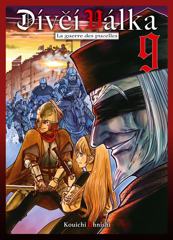 Divci valka T9, manga chez Komikku éditions de Onishi