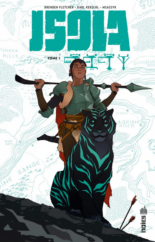 Isola T1, comics chez Urban Comics de Fletcher, Msassyk, Kerschl