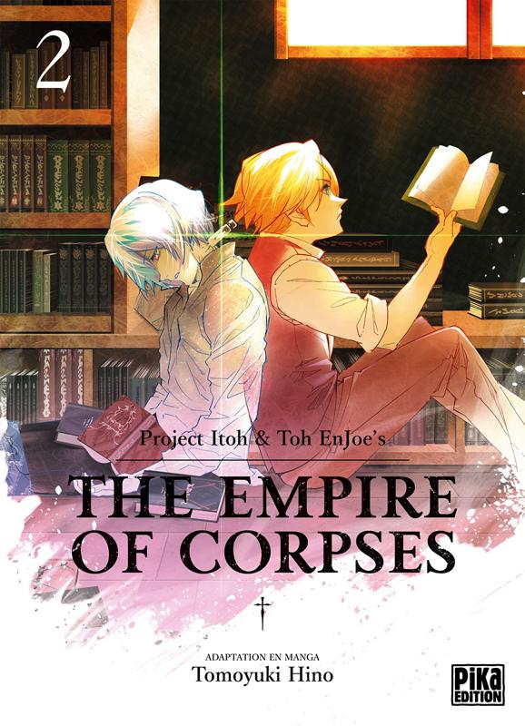 The empire of corpses T2, manga chez Pika de Project Itoh, Tomoyuki