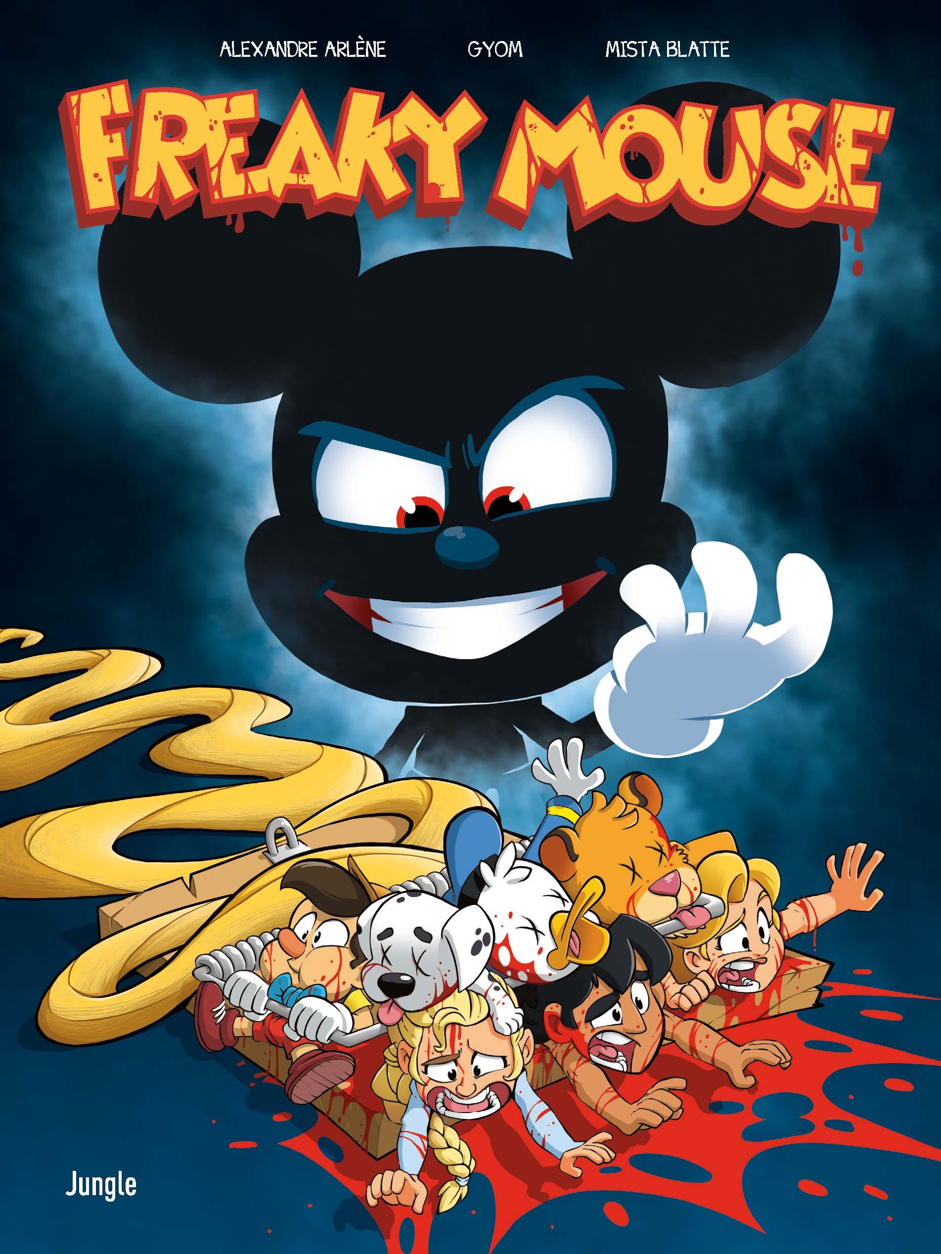 Freaky Mouse T1, bd chez Jungle de Arlène, Gyom, Blatte