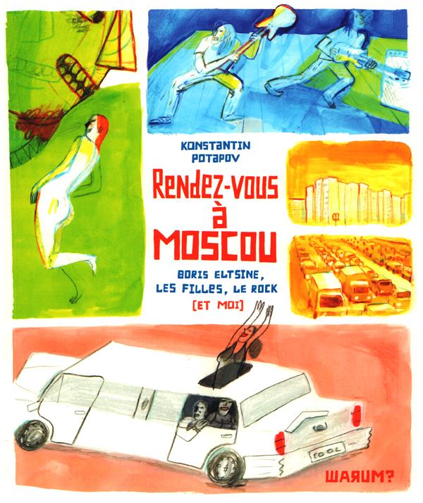Rendez-vous à Moscou, bd chez Warum de Potapov