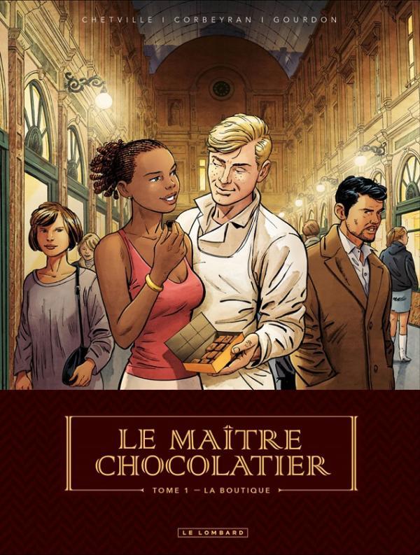Le Maître Chocolatier T1 : La Boutique (0), bd chez Le Lombard de Gourdon, Corbeyran, Chetville, Mikl