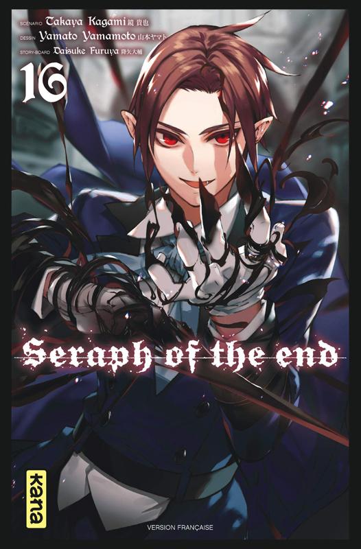 Seraph of the end  T16, manga chez Kana de Kagami, Yamamoto