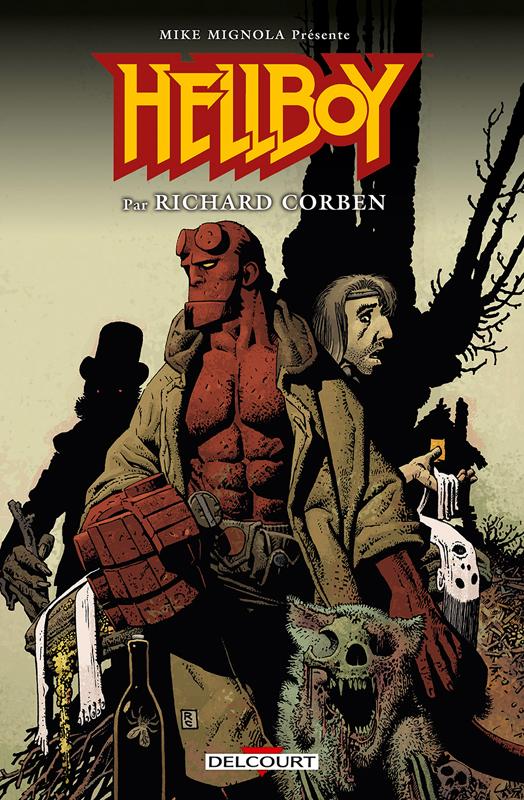 Hellboy : Hellboy par Richard Corben - Intégrale (0), comics chez Delcourt de Mignola, Corben, Stewart