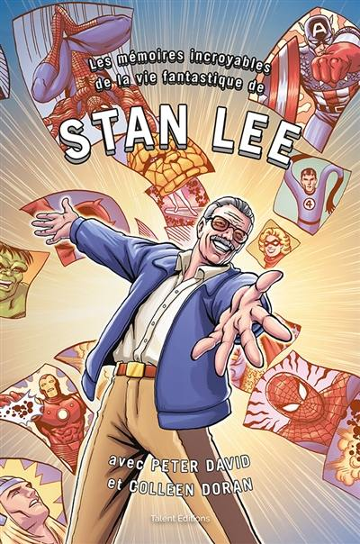 Les mémoires incroyables de la vie fantastique de Stan Lee, comics chez Talent Editions  de Lee, David, Doran, Farmer