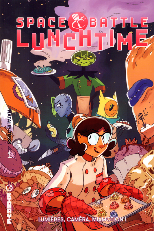 Space Battle Lunch Time T1 : Lumières, caméra, miamction ! (0), comics chez Kinaye de Riess