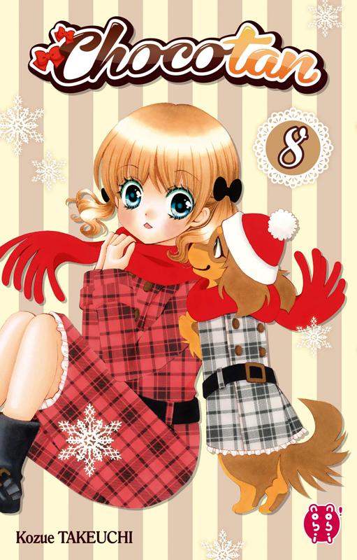 Chocotan T8, manga chez Nobi Nobi! de Takeuchi