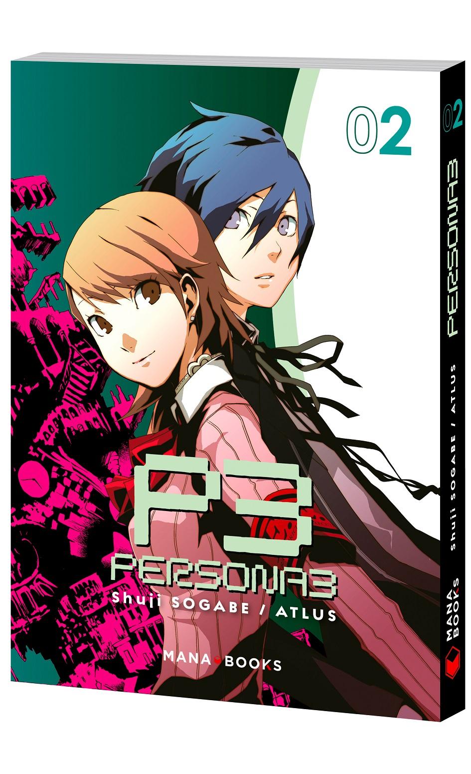 Persona 3 T2, manga chez Mana Books de Atlus, Sogabe