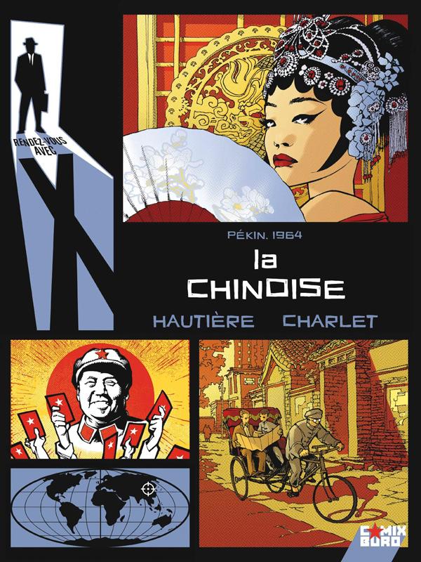 Rendez-vous avec X T1 : La chinoise (0), bd chez Glénat de Hautière, Charlet, Vatine