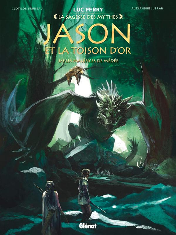 Jason et la toison d'or T3 : Les Maléfices de Médée (0), bd chez Glénat de Bruneau, Jubran, Smulkowski, Vignaux