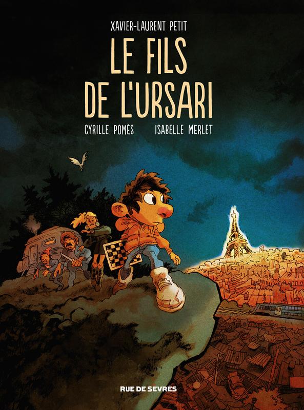 Le Fils de l'Ursari, bd chez Rue de Sèvres de Petit, Pomès, Merlet