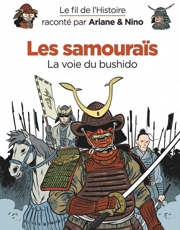Le Fil de l'Histoire T11 : Les samouraïs (0), bd chez Dupuis de Erre, Savoia