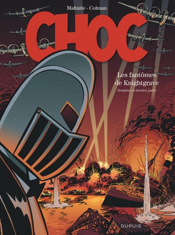 Choc T3 : Les fantômes de Knightgrave (0), bd chez Dupuis de Colman, Maltaite, Cerise