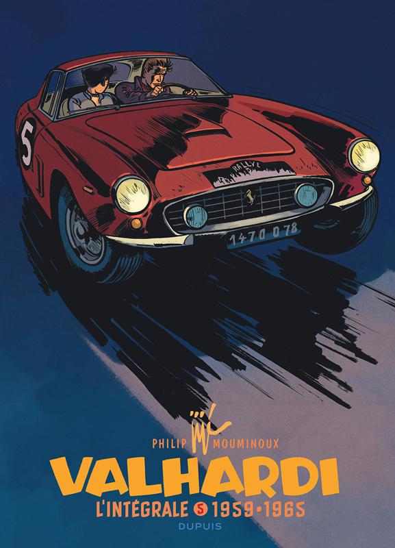 Valhardi T5 : 1959-1965 (0), bd chez Dupuis de Charlier, Mouminoux, Jijé