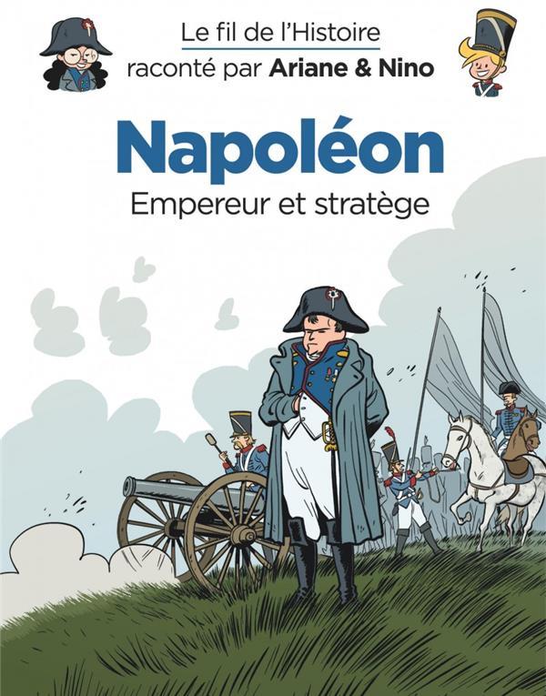 Le Fil de l'Histoire T13 : Napoléon (0), bd chez Dupuis de Erre, Savoia