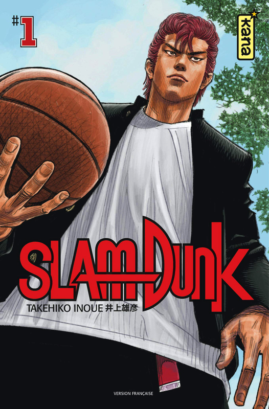 Slam Dunk – Star edition, T1, manga chez Kana de Inoue