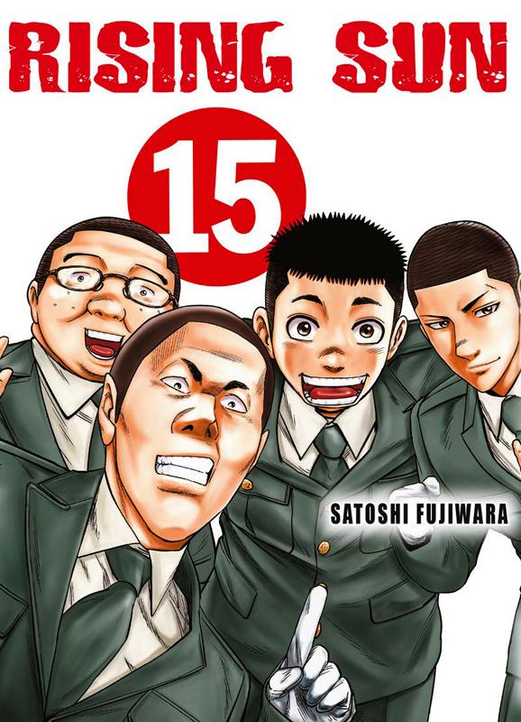 Rising sun T15, manga chez Komikku éditions de Fukushima