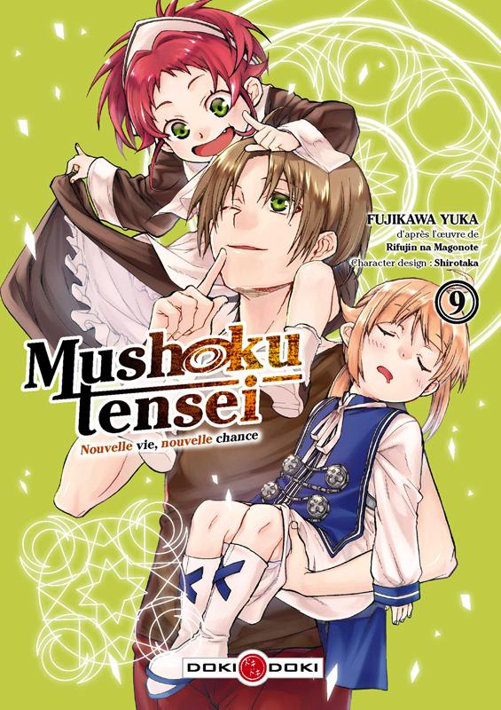 Mushoku tensei T9, manga chez Bamboo de Rifujin na magonote, Fujikawa