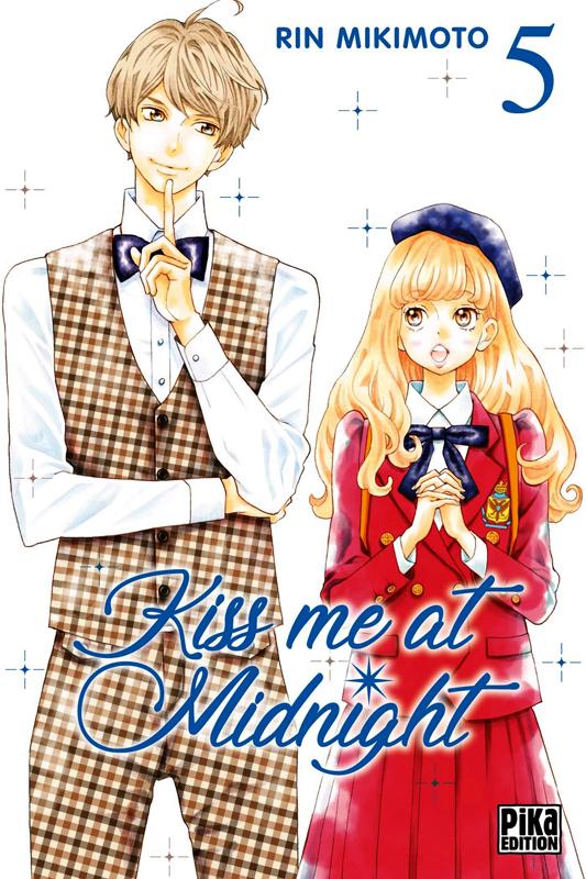 Kiss me at midnight T5, manga chez Pika de Mikimoto