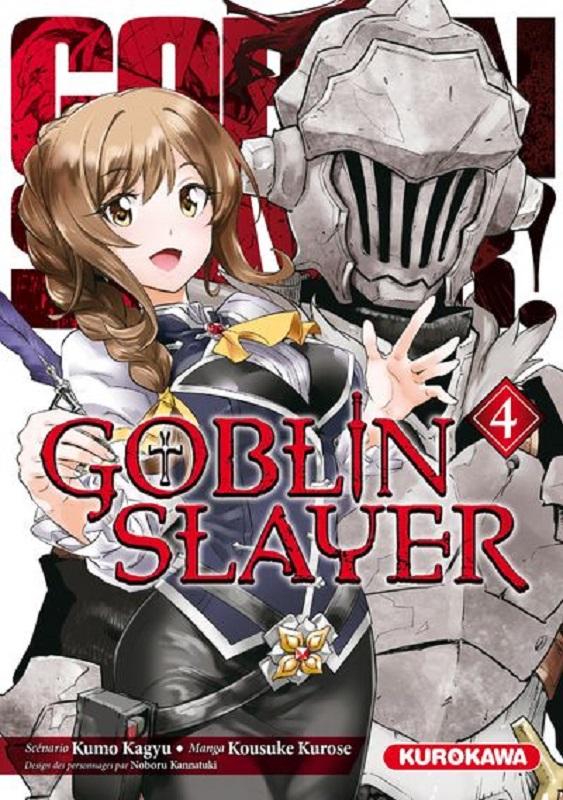 Goblin slayer T4, manga chez Kurokawa de Kagyu, Kurose