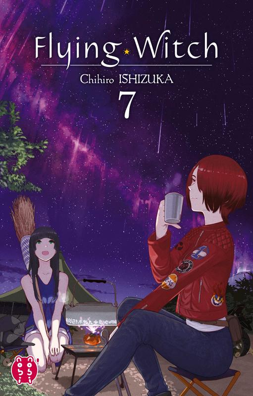 Flying witch  T7, manga chez Nobi Nobi! de Ishizuka