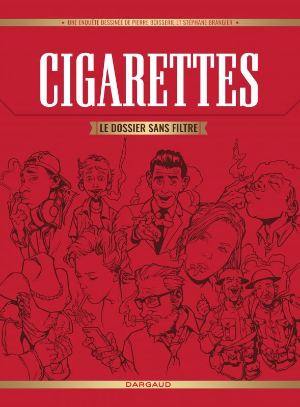 Cigarettes : Le dossier sans filtre (0), bd chez Dargaud de Boisserie, Brangier