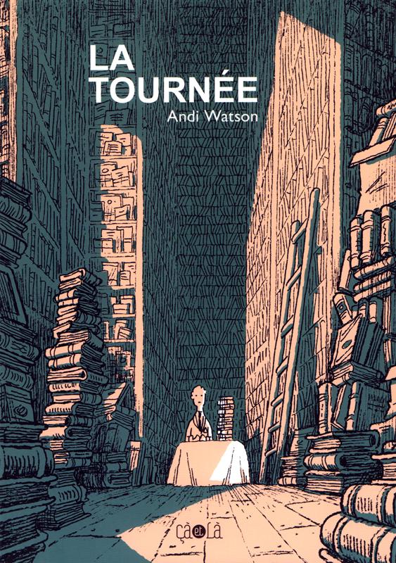 La Tournée, comics chez Çà et là de Watson