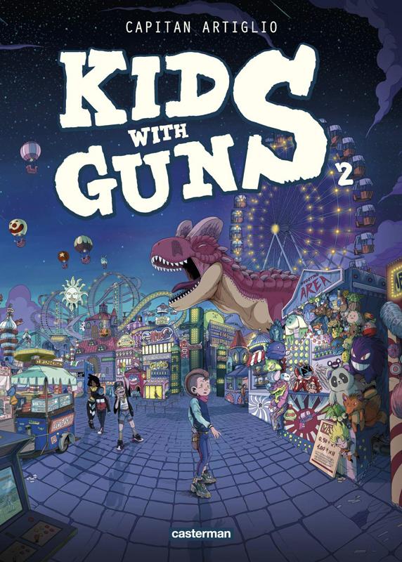 Kids with Guns T2, bd chez Casterman de Capitan